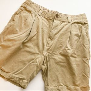 Tommy Bahama khaki pleated shorts